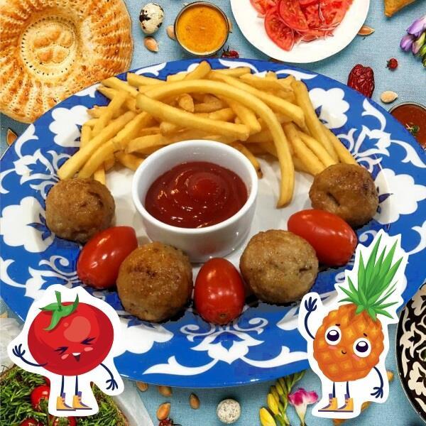 Мини-Кебаб из цыпленка